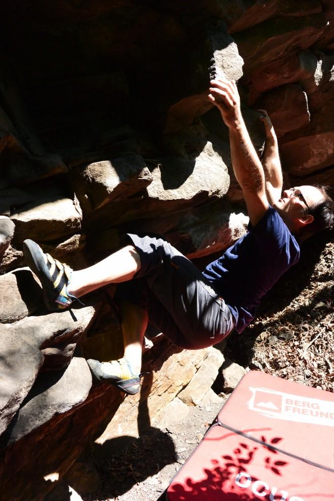 nangijala boulderquergang 6