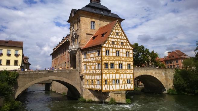 So kennen wir Touristen Bamberg: Das Alte Rathaus